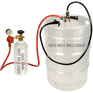 CO2 Party System with Hose