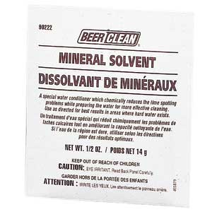 Beer Clean Mineral Solvent