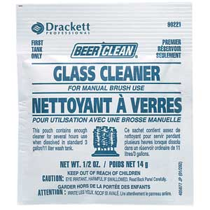 Beer Clean Glass Cleaner