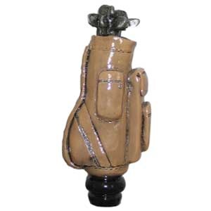 Golf Bag Tap Handle