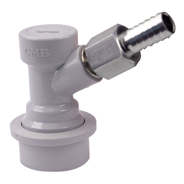 Gas in homebrew ball lock fitting quot barb