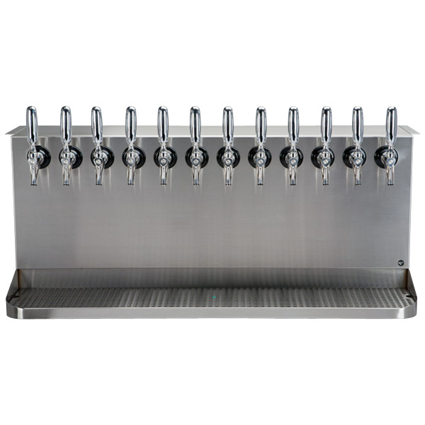 Under Bar Dispensing Cabinet Glycol Cooled 12 304 Faucets
