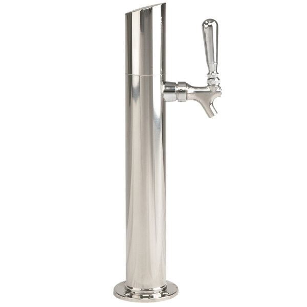 Stainless Steel Towers : Beer tower skyline faucet polished