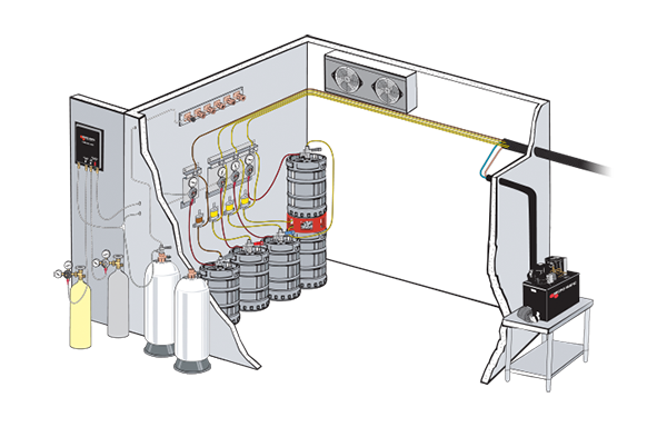 Taps Beer Glycol System Diagram Taps Free Engine Image