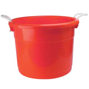 19 Gallon Red Container