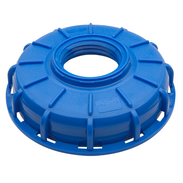 "6"" IBC Center Blue Cap"