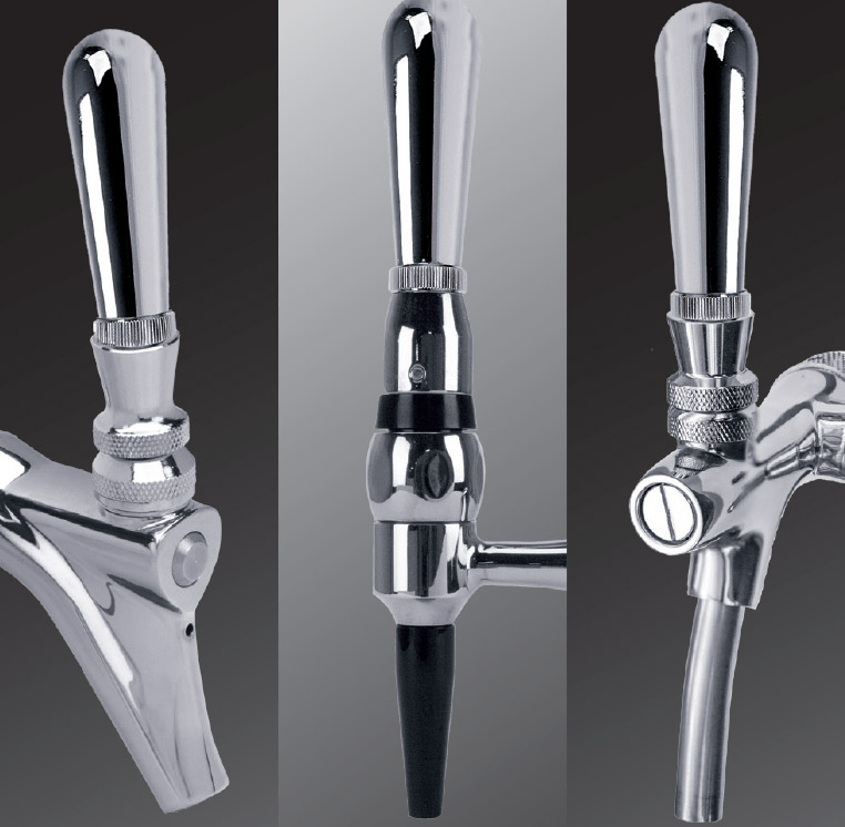 Draft Beer Faucet Handle Fitting
