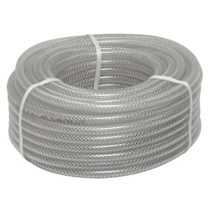 "3/8"" I.D. Braided Vinyl Hose"