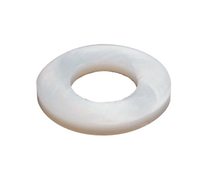 White Neoprene Washer