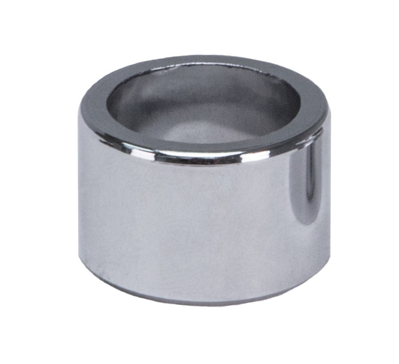 Chrome Plated Flated Plastic Outside Shank Spacer