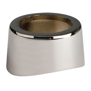 Chrome Outside Flange
