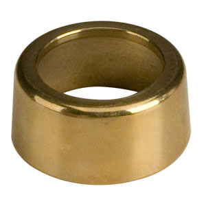 Polished Brass Outside Flange