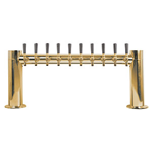 "Metropolis ""H"" - 10 304 Faucets - PVD Brass - Glycol Cooled"
