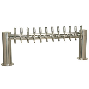 "Metropolis ""H"" - 12 304 Faucets - Polished Stainless Steel - Glycol Cooled"