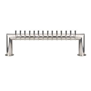 Pass Thru - 14 304 Faucet - Polished Stainless Steel - Glycol Cooled