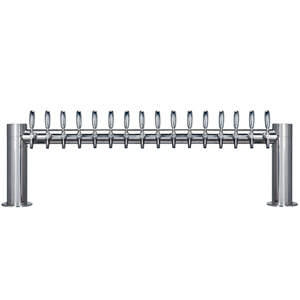 "Metropolis ""H"" - 16 304 Faucets - Polished Stainless Steel - Glycol Cooled"