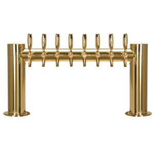 "Metropolis ""H"" - 8 304 Faucets - PVD Brass - Glycol Cooled"