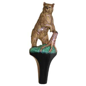 Bear Standing Tap Handle