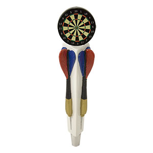 Dart Board Tap Handle