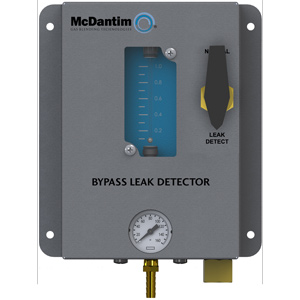 CO2 Bypass Leak Detector