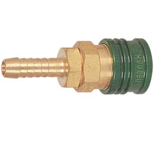 Gas Disconnect Coupler - Green