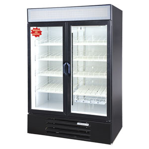 Beverage-Air Lumavue Merchandiser Double Glass Doors