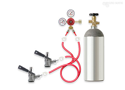 Dual Keg Tapping Kit