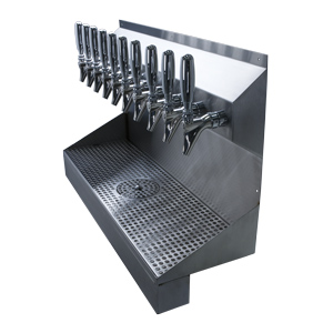 Kronos - 10 Faucet Draft Tower