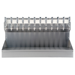 Kronos - 12 Faucet Draft Tower