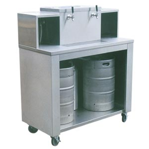 2 Keg Portable Bar