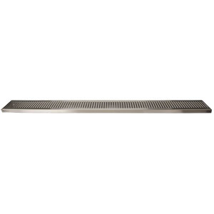 "45"" Stainless Steel Surface Mount Drain Tray, w/ Drain"