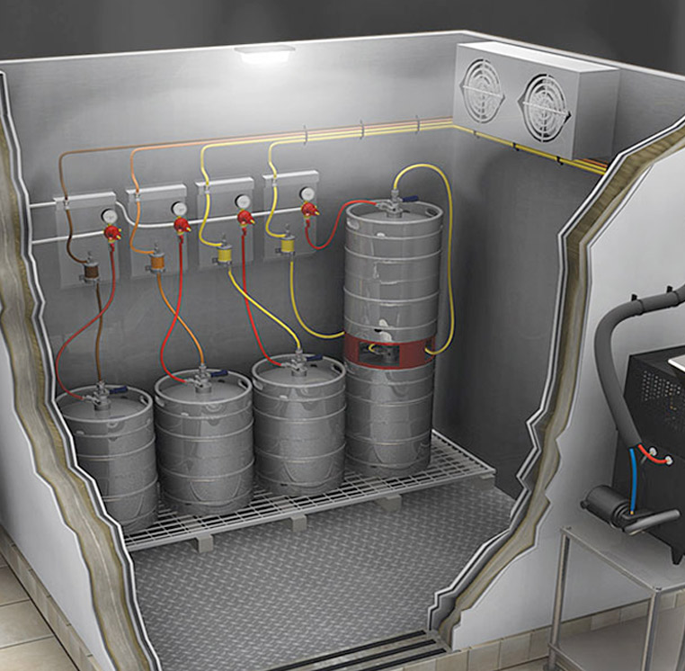 Glycol Cooled Beer Dispensing