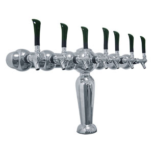 Brigitte - Chrome Finish - Glycol Cooled - 7 Faucets