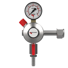 Premium Plus CO2 Regulator - Primary - Low Pressure - 0-60 PSI - 1 Gauge