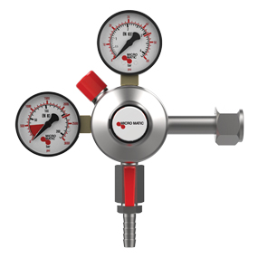 Premium Plus CO2 Regulator - Primary - Low Pressure - 0-60 PSI - 2 Gauge