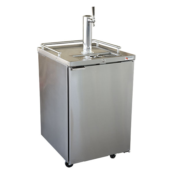 Micro Matic Pro Line Direct Draw Keg Refrigerator Stainless Steel
