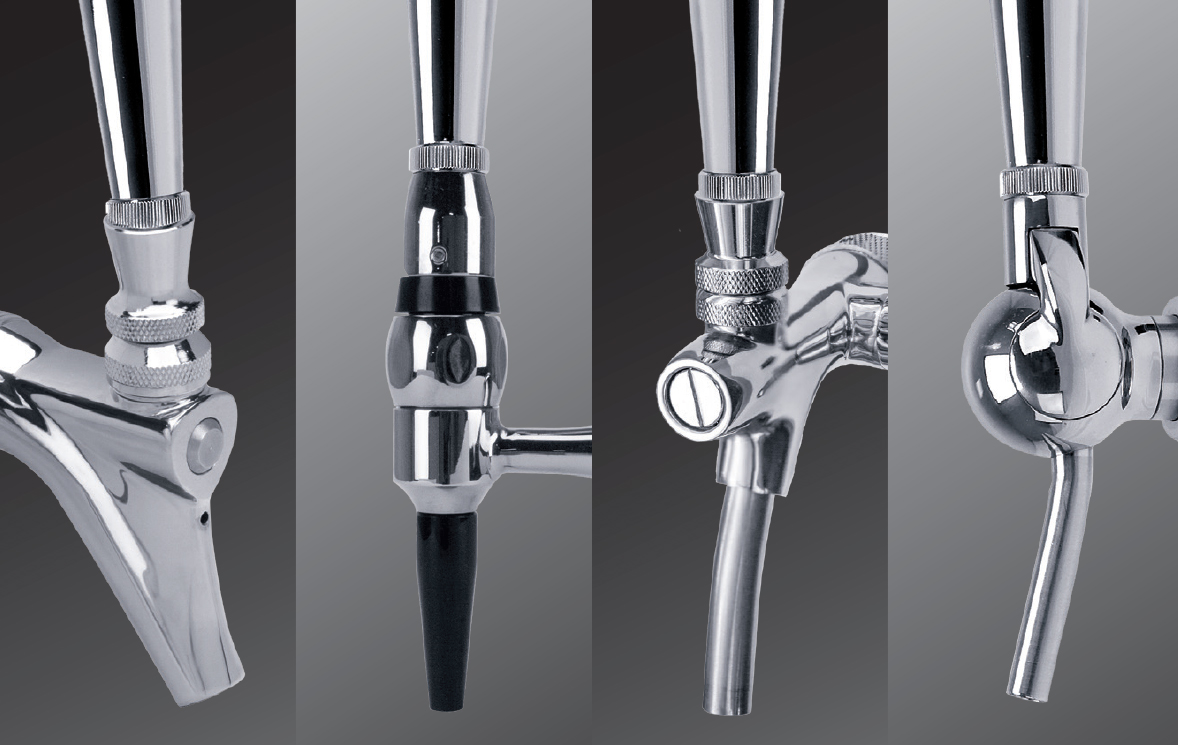 faucet tap flow faucets beer stainless steel control htm perlick p