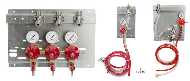 Beer Gas Regulator Panels