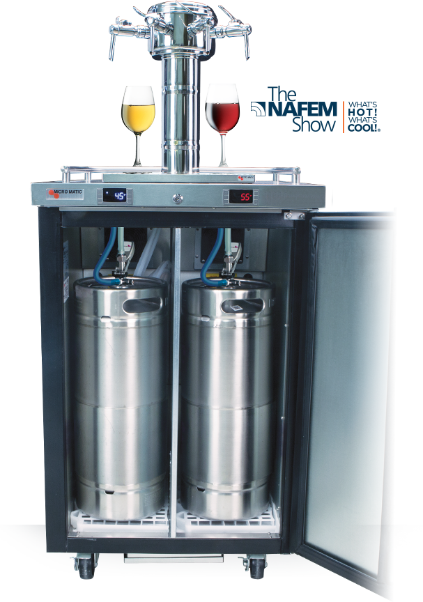 Wine on Tap Equipment - Wine Dispensing
