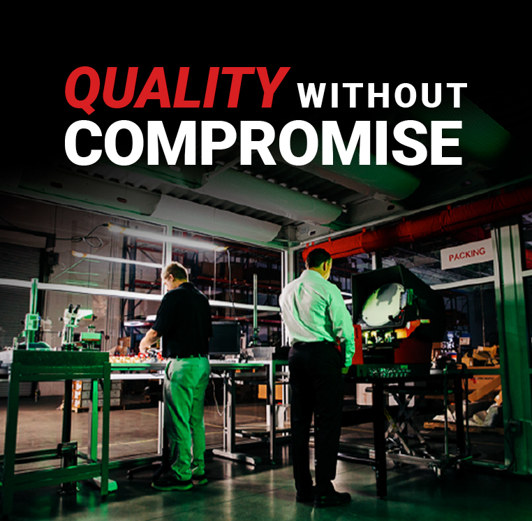 The Micro Matic promise: Quality Without Compromise