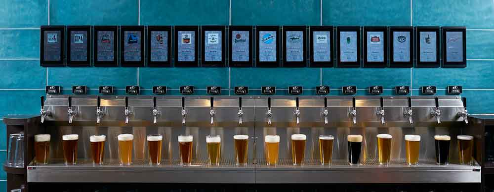 9 Draft Lines Beer Pump and Foam Detector Panel System