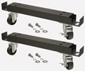 Easy mobility for Pro-Line direct draw and back bar units.