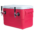 Jockey Box Coil Cooler - Red - Two 50' Coils
