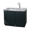 "Kegerator - Commercial Grade Unit, Beverage-Air Draft Box 2 Keg, 50"" Direct Draw Club Model"