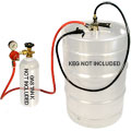 "American ""D"" System CO2 Party Dispensing System with 4' Beer Hose & Squeeze Faucet"