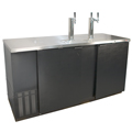 Kegerator - Commercial Grade Unit, Fits up to three 1/2 Barrel (Full Size) Kegs.