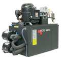 Pro-Line Glycol Power Pack, 500 ft Distance, 1 HP Compressor, Two pumps & Motors, Water Cooled