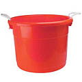 19 Gallon Red Container w/ Rope Handles