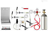 Premium - Door Kegerator Conversion Kit, 2 Keg - RCK-SG-2: Top quality kegerator conversion kit for home beer dispensing. Includes CO2 tank and works with two keg systems.