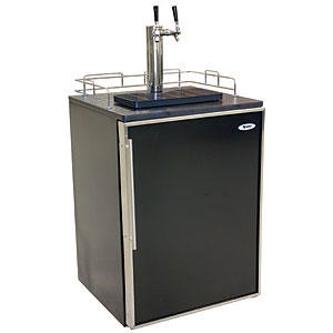 Summit undercounter kegerator dual tap dispense forum for Home bar with kegerator space